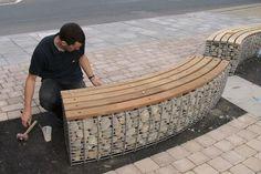 ספסל מגביון