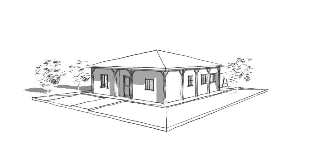 בית מודולרי פשוט