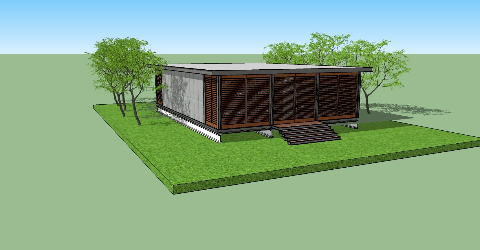 """'בית התה' – בית מבניה מתקדמת 100 מ""""ר למגורים"""