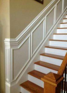 קרניז לחיפוי קיר מדרגות