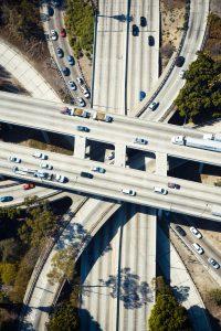 """תשתית כבישים בלוס אנג'לס - צולם ע""""י Daniel Lee"""